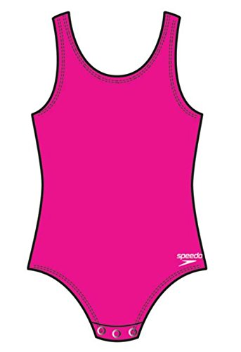 Speedo Little Girls Begin To Swim UV 50 Toddler Snap Suit