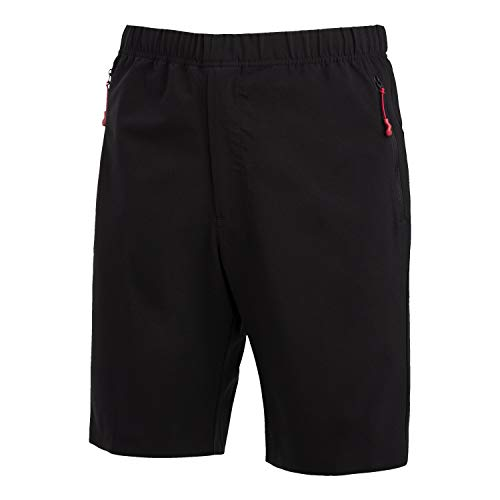 Descente Men's x DSPTCH Packable Water Repellent Lightweight Shorts for Hiking and Traveling ()