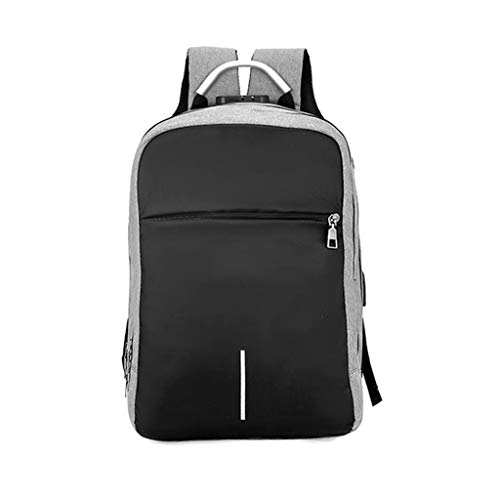 Mbtaua Outdoor Camping Hiking Backpack Lock Shoulder Business Intelligent Travel Bag With USB Charge