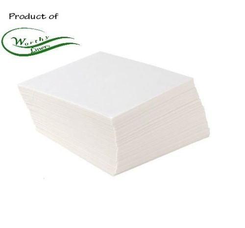 Worthy Liners Parchment Paper Squares 1000 Pieces (5 X 5 Inch) by Worthy Liners
