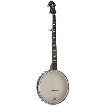 Gold Tone WL-250 White Ladye Openback Banjo (Five String, Vintage Brown)