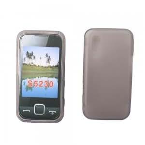 Gel Case Cover for Samsung S5230 Star Tocco Lite Black