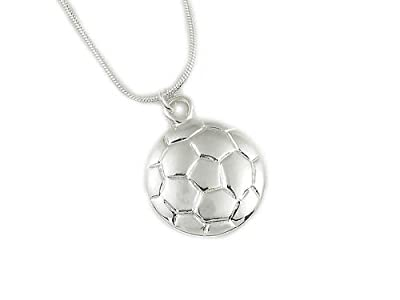 Soccer Necklace: #1 Top Selling Gift for Soccer Player, Coach and Team. Why Buy Another Soccer Trophy?