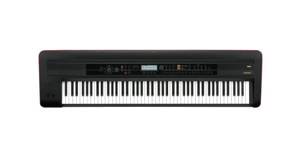 Amazon.com: Korg Kross 88 – Llavero Negro Mobile Workstation ...
