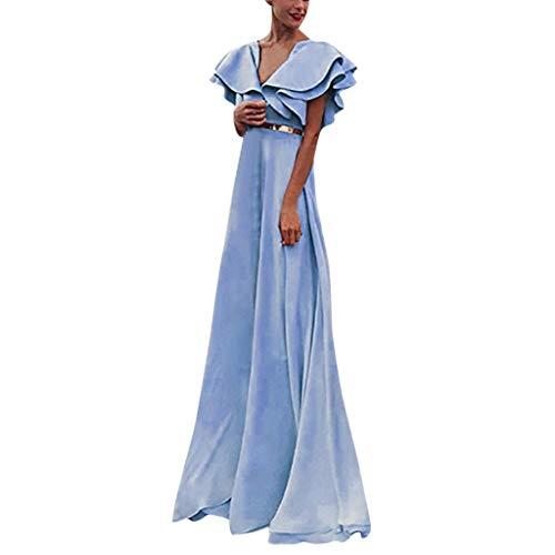 Bridal Sottero Maggie (Beautyfine Wedding Dresses Women Fashion Elegant Slim Evening Party Causal Ball Gown Dress Blue)