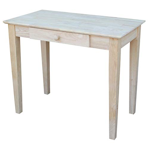 unfinished wood table - 5