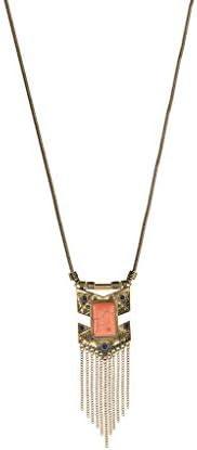 Accesorios Lux pulido buena y flecha de Coral collar de acoplamiento de cadena