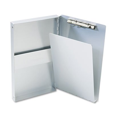 Snapak Aluminum Side-Open Forms Folder, 3/8