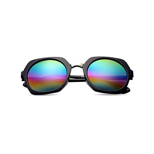 nouveau cycle des lunettes de soleil madame le visage rond korean rétro - yeux star des lunettes des lunettes de soleil la maréeboîte noire (coloré cloth) NTqnAyO