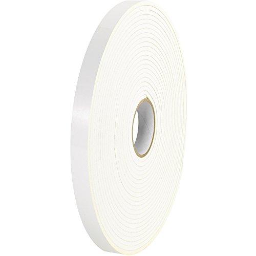 Tape Logic T9501162PK Polyethylene Double Sided Foam Tape, 1/8