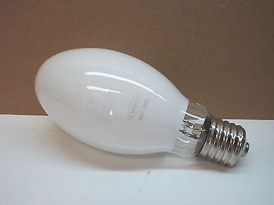 H37KC-250/DX 250-Watt Mercury Vapor Lamp Light Bulb 250W H37 E39 (Mercury E39 Vapor Base Coated)