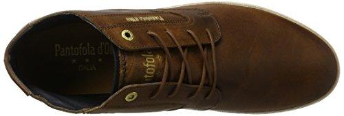 Pantofola d'Oro Vigo Mid, Sneaker a Collo Alto Uomo Marrone (Tortoise Shell .Jcu)