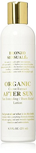 Bronzo Sensualé After Sun and Sun Tan Extender Carrot Lotion 8.5 Ounces by BRONZO SENSUALE (Image #8)
