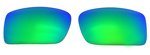 Polarized Replacement Lenses for Oakley Gascan Sunglasses (Green) - Gascan Lenses Replacement Oakley