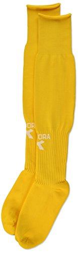 Diadora Squadra Soccer Socks, Medium, (Diadora Gold Soccer Socks)