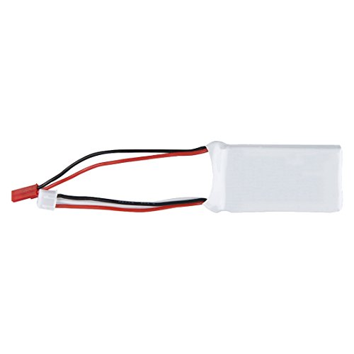 SODIAL(R)7.4V 1200mAh 25C 2S Lipo Battery JST Plug for RC Car Truck airplane