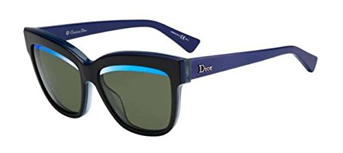 Christian Dior Graphic/S 388 3N Sunglasses Black Blue Green / Green Blue 55mm