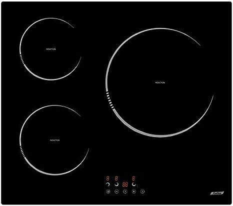 Cocina de inducción Curtiss BI355: Amazon.es: Grandes ...