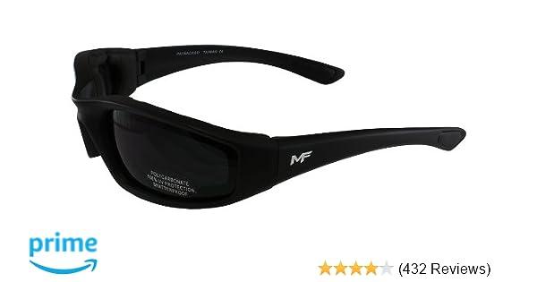7ef035faade Amazon.com  MF Payback Sunglasses (Black Frame Super Dark Lens)  Automotive
