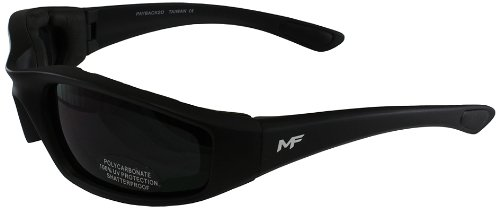 Black Lens Sunglasses - MF Payback Sunglasses (Black Frame/Super Dark Lens)