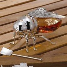 Godinger BEE HONEY JAR
