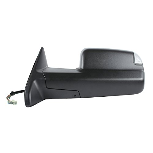Fit System 60196C Dodge/Ram 1500, 2500, 3500 Left Heated Power Replacement Towing Mirror - 2500 Replacement Mirrors