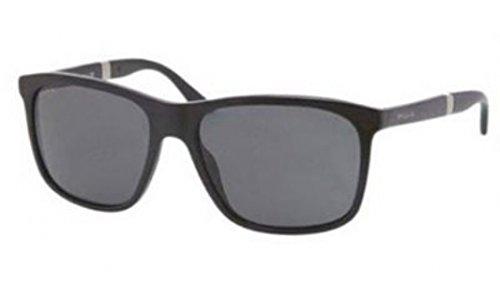 Bvlgari 7016 501/87 Black 7016 Wayfarer Sunglasses Lens - Bvlgari Mens Sunglasses