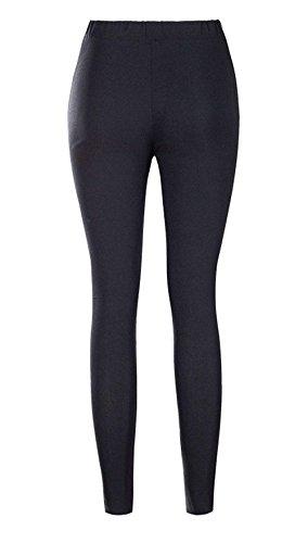 Legging Lunga Elastica Tempo Colori Donna Elastico Matita Skinny Trousers A Autunno Cintura Casuale Matita Pantaloni Fashion Solidi Nero Battercake Donne Libero xnAqOwpIC