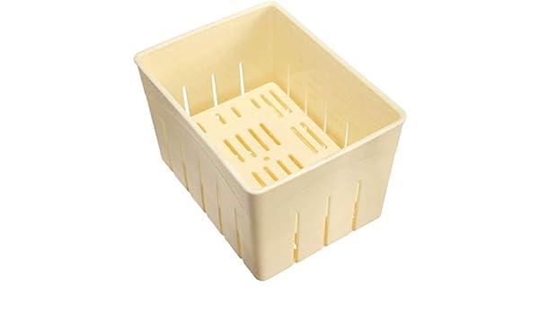 BOLLAER Tofu Grid Tofu Caja, prensa casera de Tofu caja de molde ...