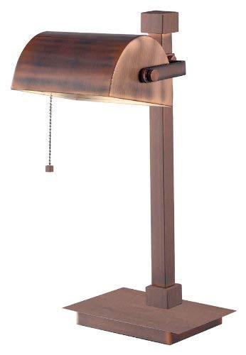 Kenroy Home 32008VC Welker Desk Lamp, Vintage Copper