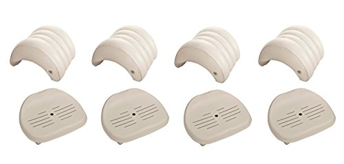 pure spa hot tub removable headrest