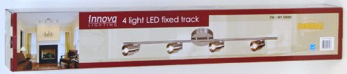 Innova Lighting 4 Light LED Fixed Track