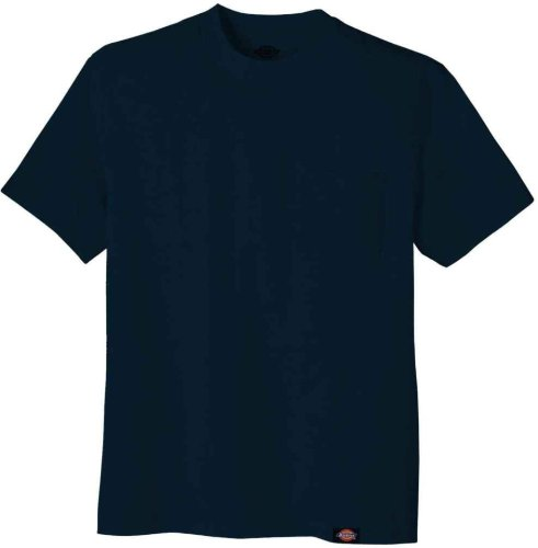 Dickies Men's Short-Sleeve Pocket T-Shirt Dark Navy ,Large- Tall