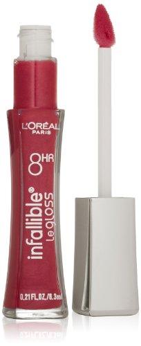 L'Oreal L'Oréal Paris Infallible 8 HR Pro Gloss, Pink Top...