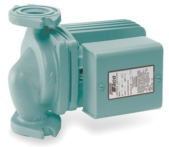 Taco Hot Water Circulator Pump Model 0011-F4 ()