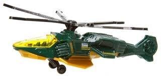 (2013 Matchbox MBX Sky Busters Air Grabber 2100 Green)