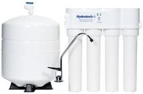 HYDROTECH-4VTFC25G-PB 4 Vessel 25 GPD Reverse Osmosis System with Push Button Monitor