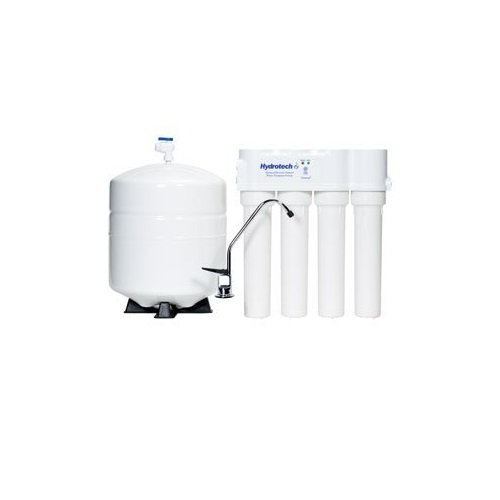 HYDROTECH-4VTFC25G-PB  4 Vessel 25 GPD Reverse Osmosis System with Push Button (25 Gpd Ro System)