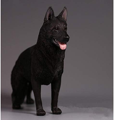 1//6 Scale Shepherd Dog Model Figurine Display Decorative Statue Collection