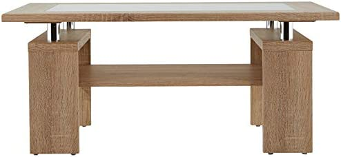 Alfa-Tische Malaga Mesa de saln, 100 x 65 x 44 cm: Amazon.es: Hogar