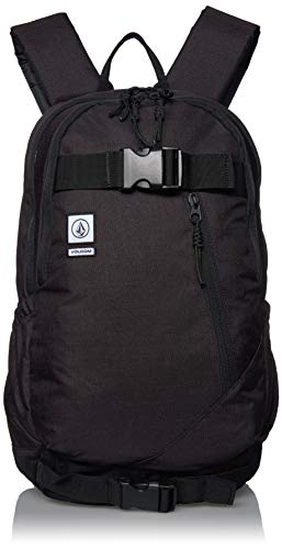 Backpack Embroidered Volcom - Volcom Young Men's Substrate Backpack Accessory, vintage black, One Size Fits All