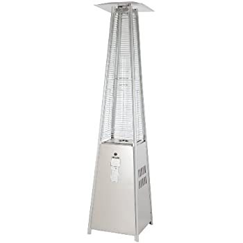This Item Fire Sense Stainless Steel Pyramid Flame Heater
