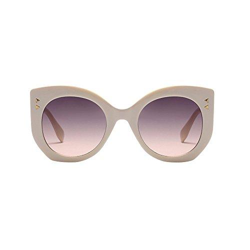 YEZIJIN Women Vintage Big Frame Sunglasses Retro Eyewear Fashion Ladies ()