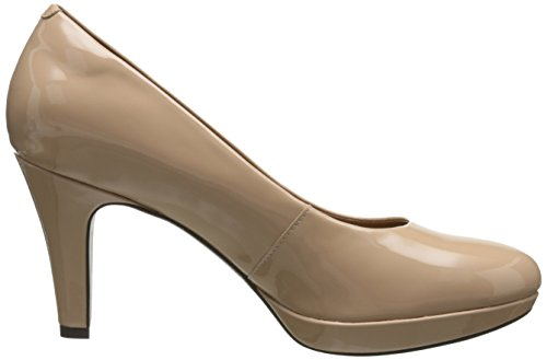 Bomba Clarks Brier vestido de Dolly Nude Synthetic