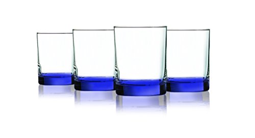 - Beverage Aristocrat Double Old Fashioned Glasses (Blue)