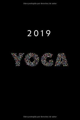 2019 ENE - DIC Agenda Semanal | 152 x 229 mm | 1 Semana en 2 Páginas | 52 Semanas Planificador y Calendario | Yoga Meditación  [Otto Organizador] (Tapa Blanda)