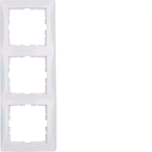 6511010003 marco 3 elementos s1 blanco polar Ref Berker