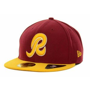2 Tone 59fifty Cap (New Era Washington Redskins 2 Tone 59FIFTY Fitted Cap)