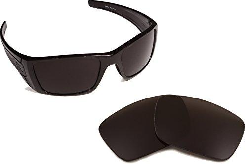 Best SEEK OPTICS Replacement Lenses Oakley FUEL CELL - Black by Seek Optics