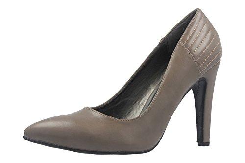 Übergrößen Grau Machado Damen Pumps Andres in Schuhe nvwYqAPWA